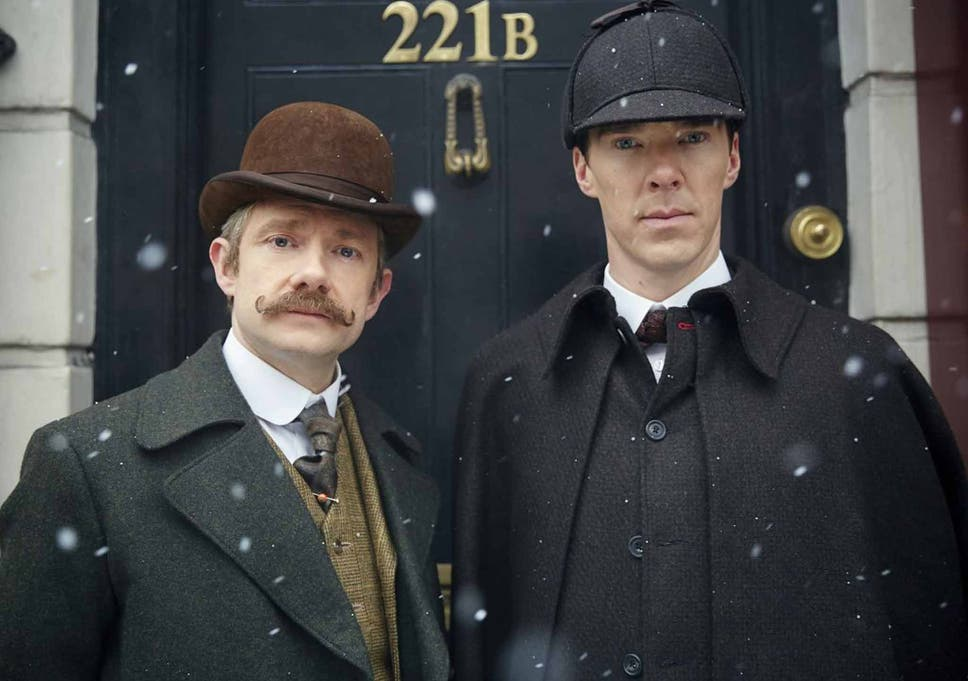 Benedict Cumberbatch With Martin Freeman As John Watson