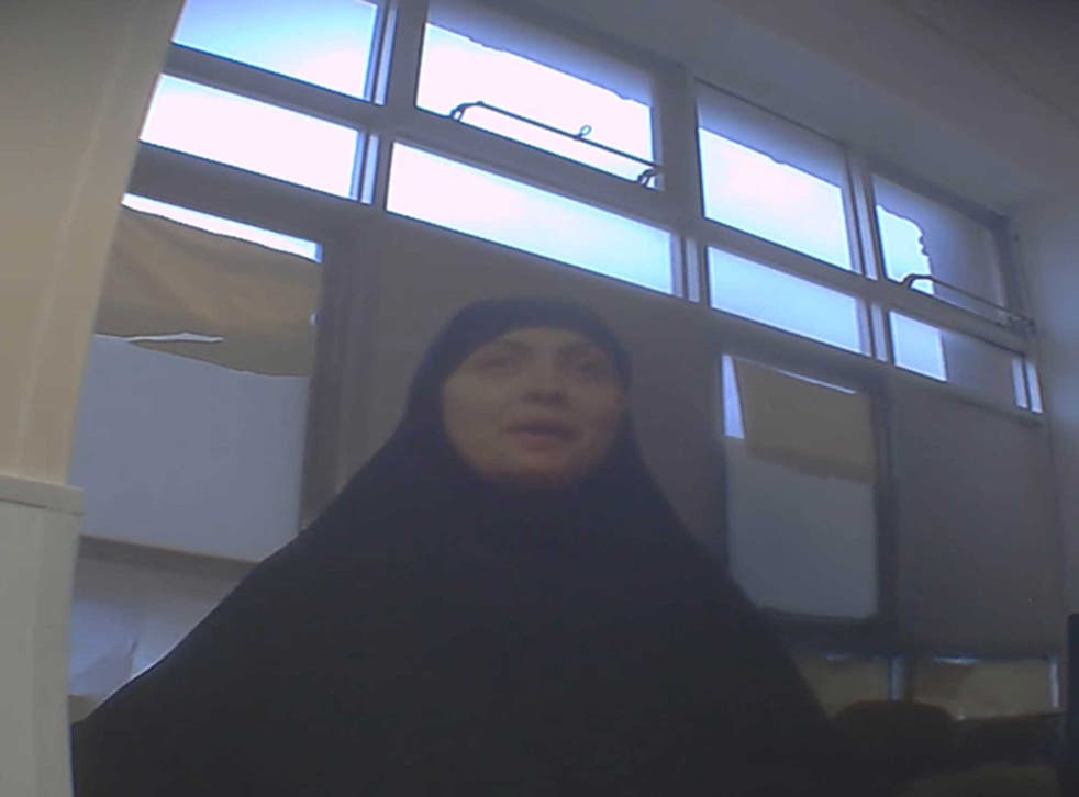 One of the women clandestinely filmed as part of the investigation