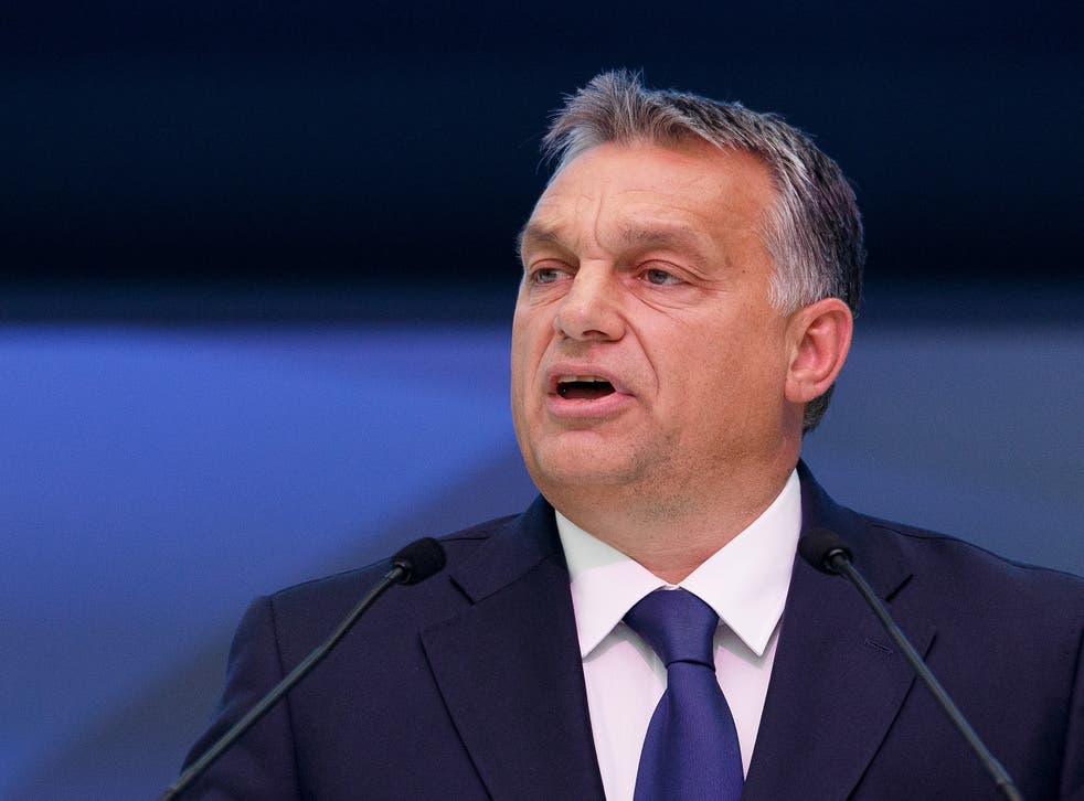 The Hungarian Prime Minister said he wanted to save the Schengen agreement by securing external borders