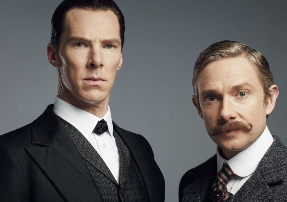 benedict cumberbatch and martin freeman in sherlock christmas special - Watch Sherlock Christmas Special