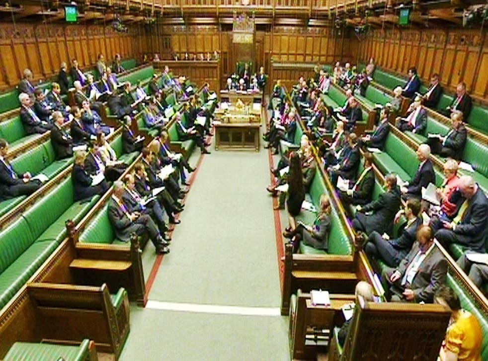 MPs debate the renewal of Trident