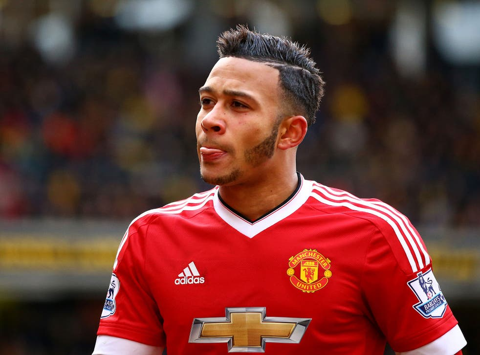 Memphis Depay scored for Manchester United against Watford on Saturday