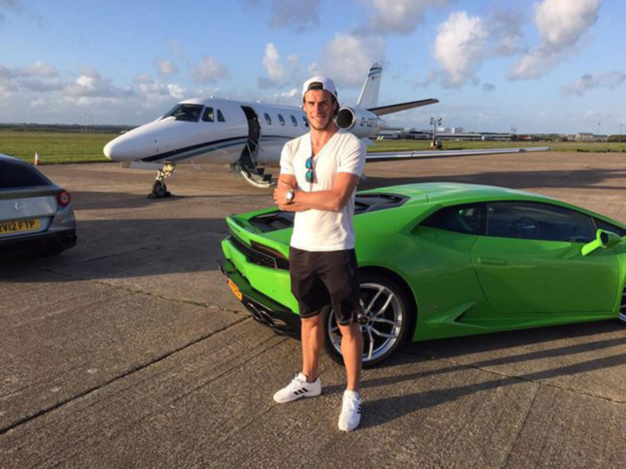 Gareth Bale Forced To Give Up Driving Supercars Because