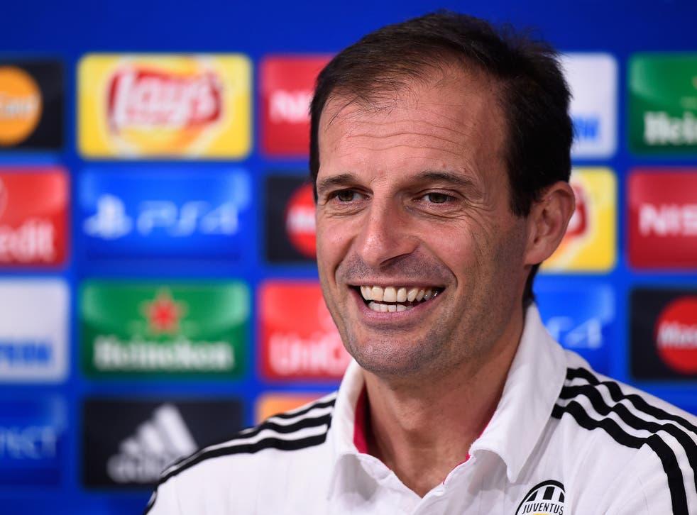 Juventus manager Max Allegri