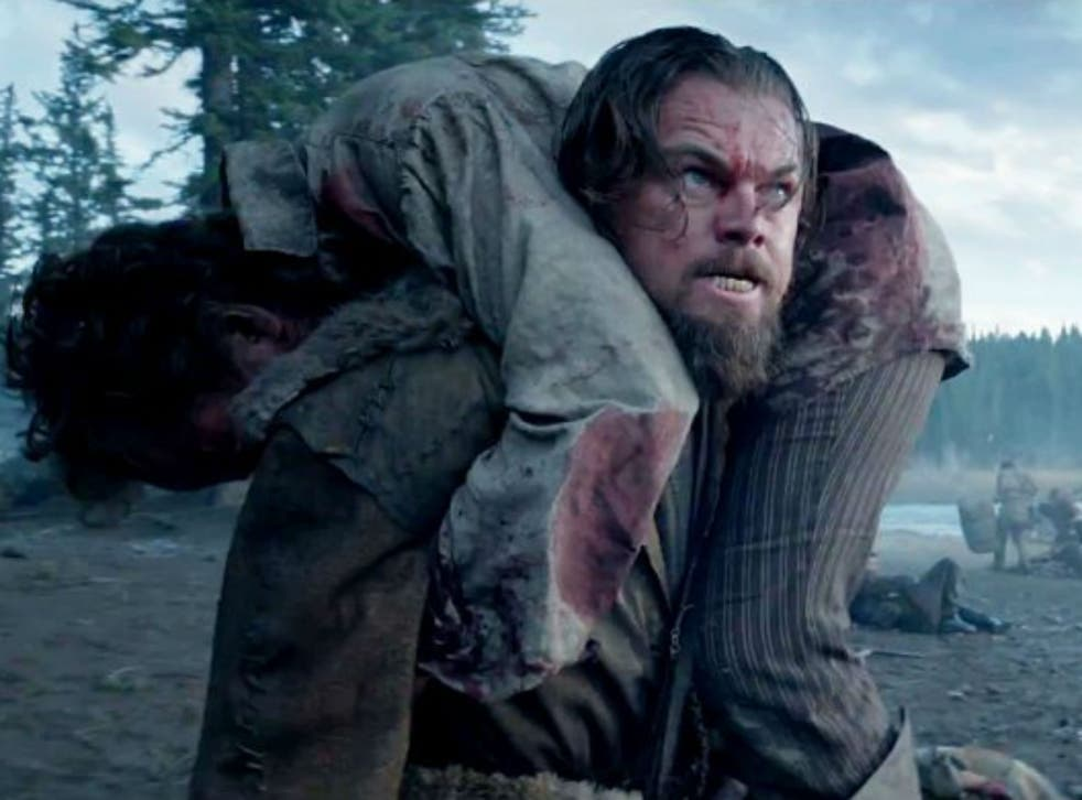 DiCaprio undergoes all sorts of other traumas but rape by a bear is not one of them