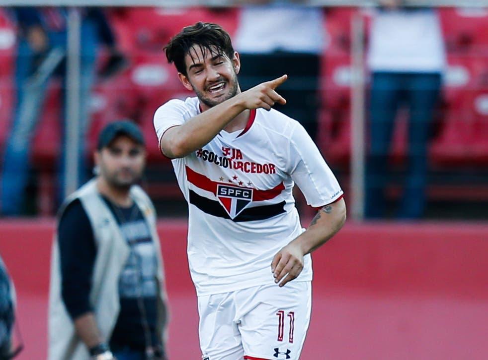 Alexandre Pato has been on loan with Sao Paulo from Corinthians since 2014