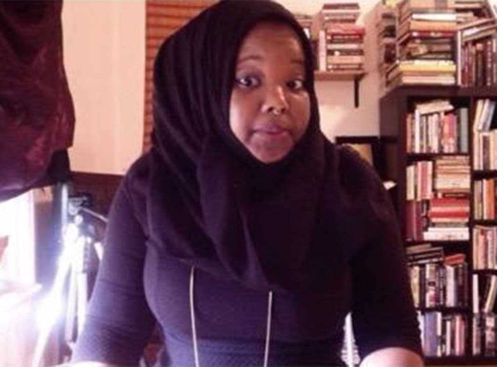 Kameelah Rasheed says she had her passport confiscated by US officials