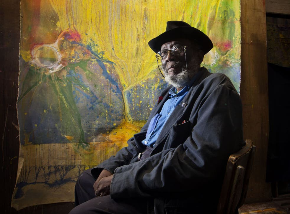 Frank Bowling is one of Britain's most distinguished post-war artists