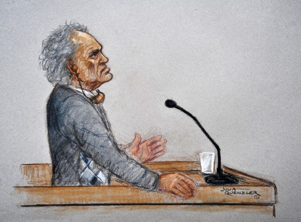 Aravindan Balakrishnan told the court his mind-controlling accomplice was responsible for events such as the space shuttle disaster