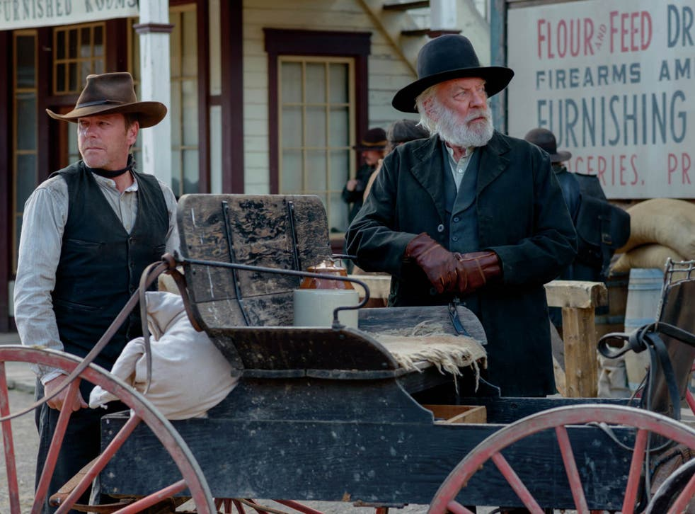 Kiefer Sutherland and Donald Sutherland starring together in their new film, Forsaken.