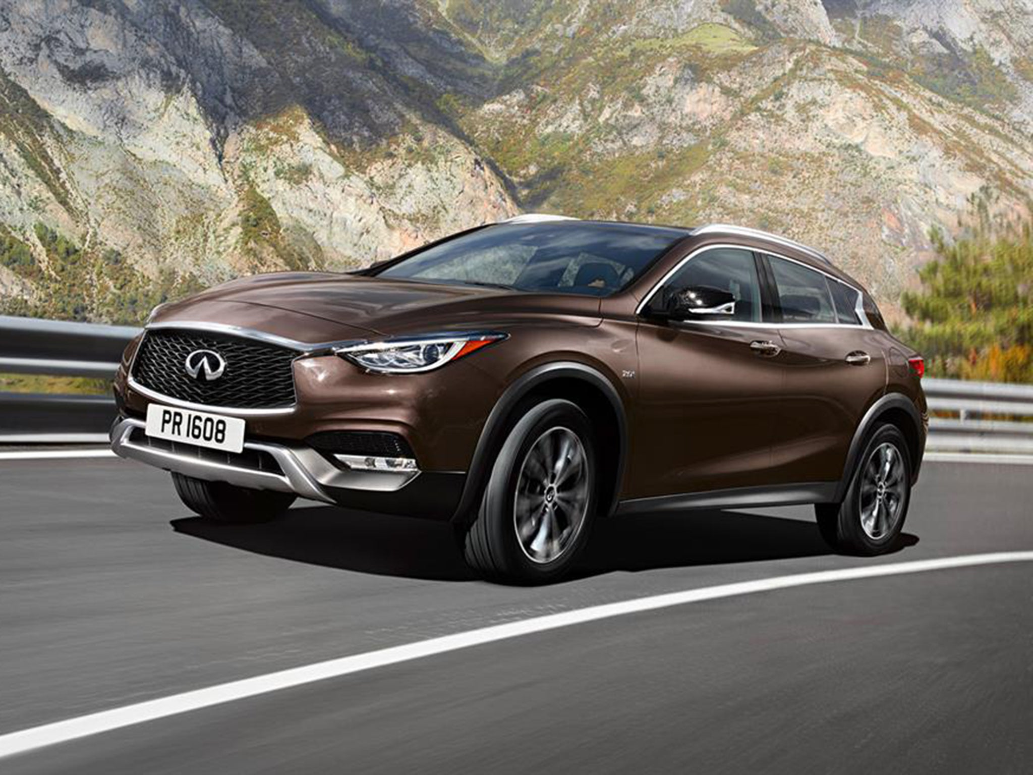 2016 infiniti qx30 revealed rival for bmw x3 arriving next summer the independent