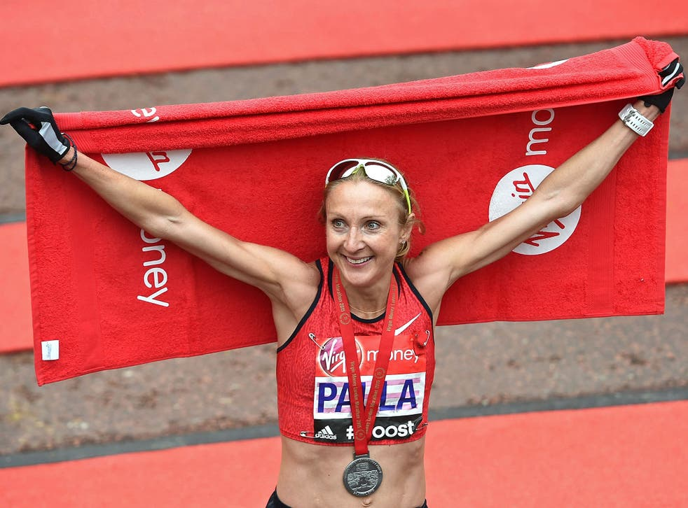 Paula Radcliffe has been cleared of doping allegations