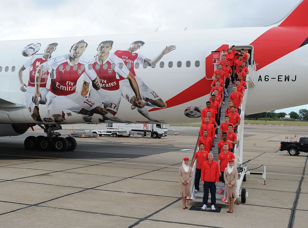 Arsenal will take a 14-minute flight from Luton to Norwich