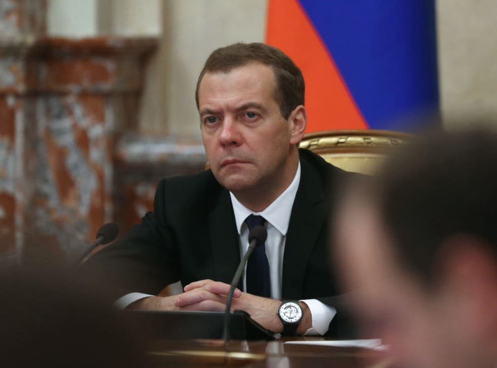 Russian Prime Minister Dmitry Medvedev expected to sign a government decree specifying the economic measures in the next few days