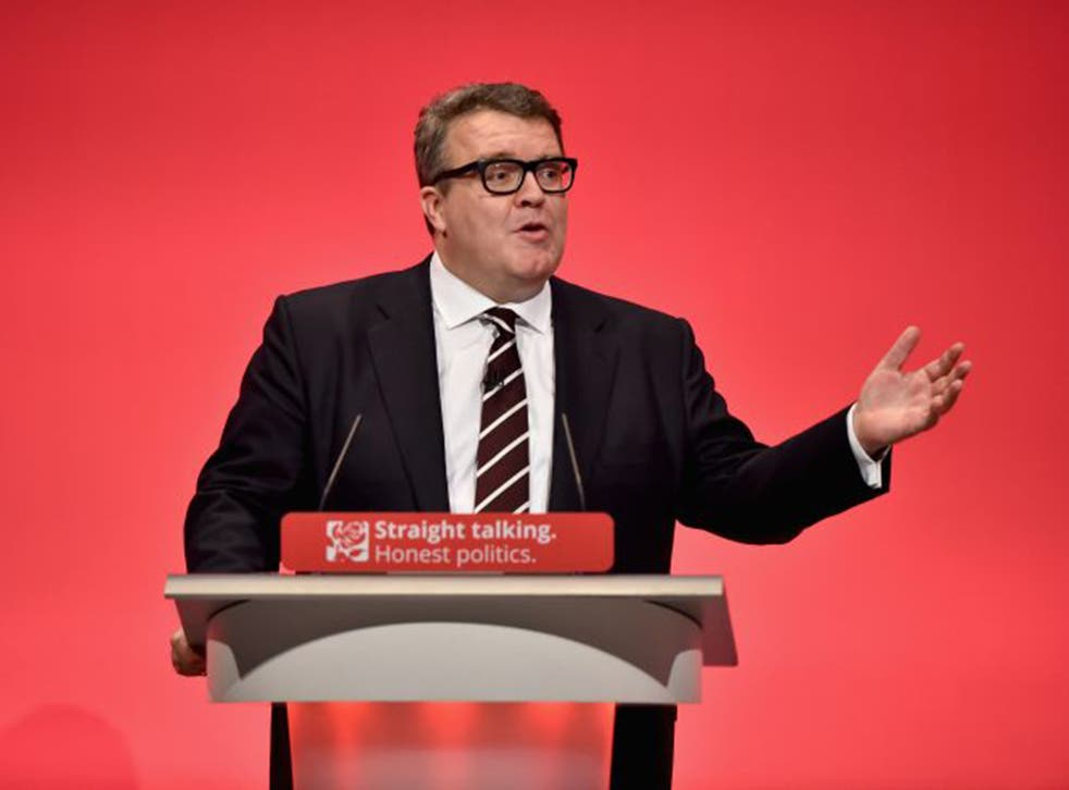 Tom Watson is at odds with Labour leader Jeremy Corbyn over air strikes