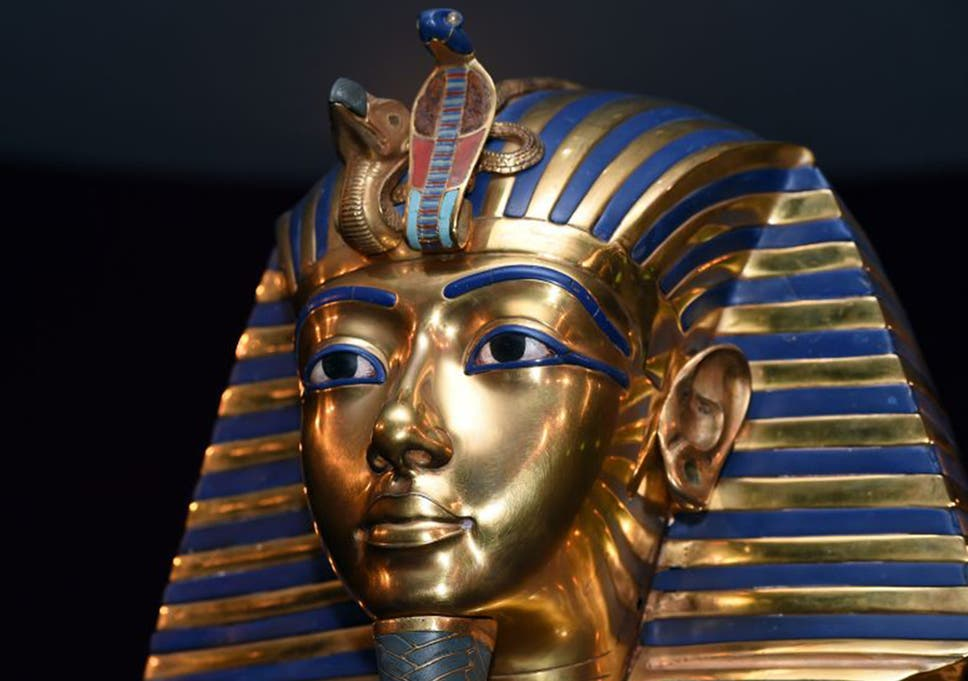 Tutankhamun: Great golden face mask was actually made for