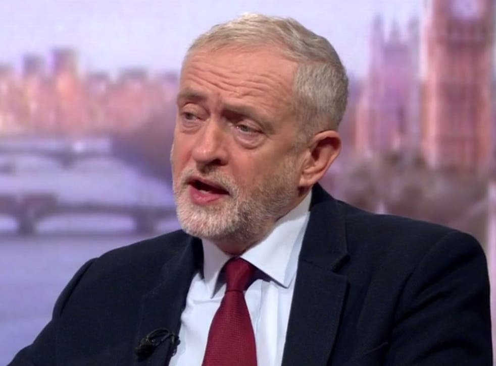 Labour leader Jeremy Corbyn is opposed to the bombing
