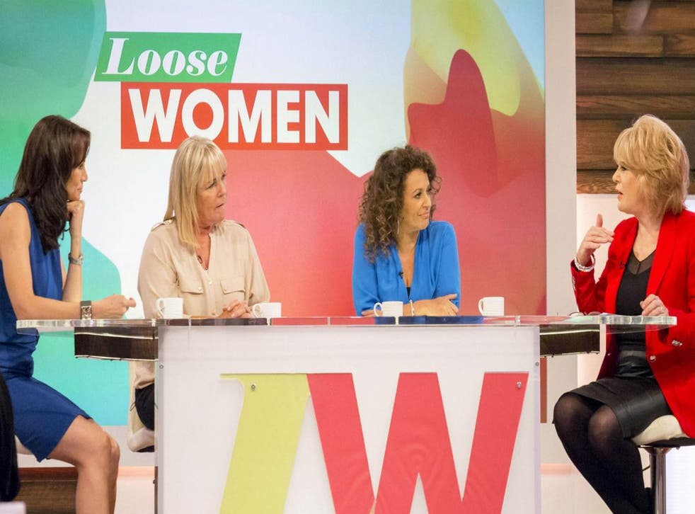 Loose Women, soon to be renamed 'THINK OF THE CHILDREN!'