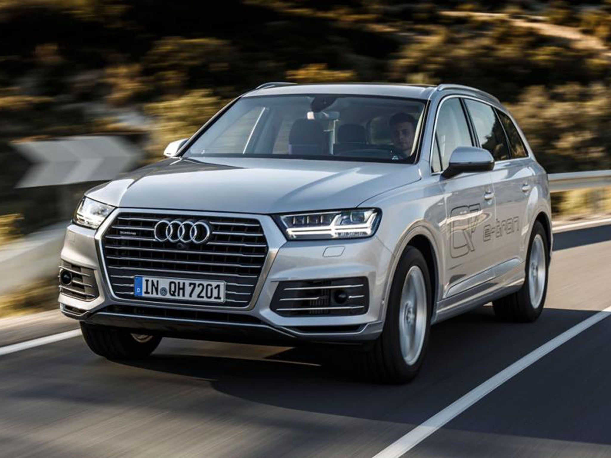 audi q7 e tron introducing their new plug in hybrid suv the independent. Black Bedroom Furniture Sets. Home Design Ideas
