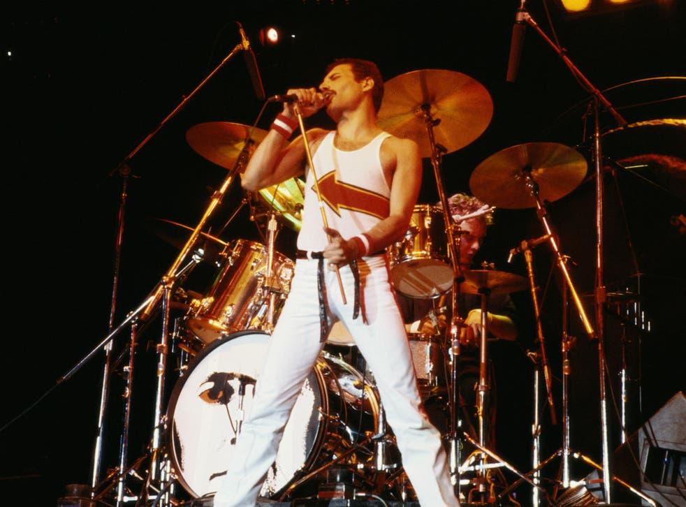 Freddie Mercury, former frontman of Queen