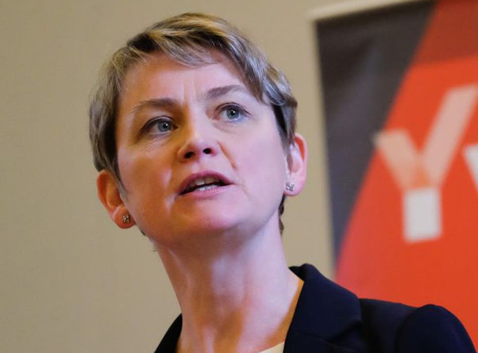Yvette Cooper chairs the Labour party's refugee taskforce