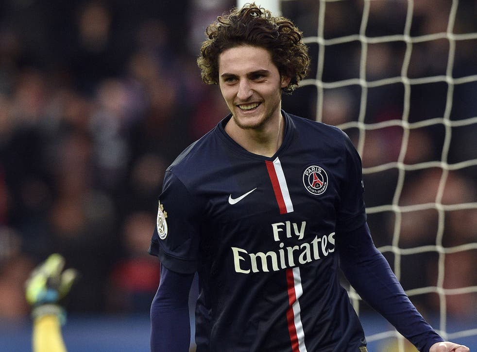 PSG midfielder Adrien Rabiot could be targeted by Arsenal and Spurs in January
