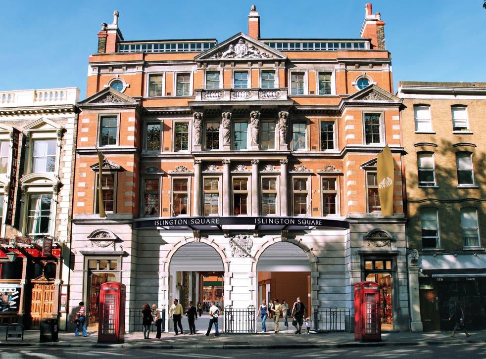 Islington Square Entrance