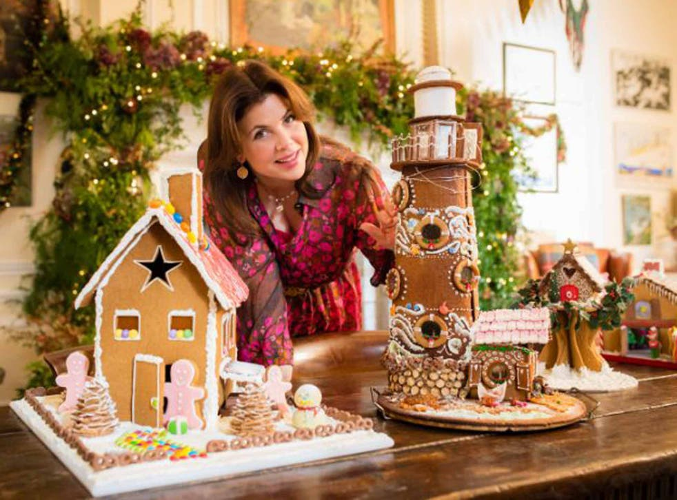 Sweet talk: The presenter was inspired by Swiss traditions