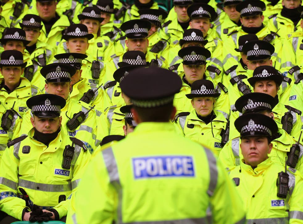 Sturgeon: the SNP's pledge to maintain 1,000 more officers than it inherited will not be reviewed