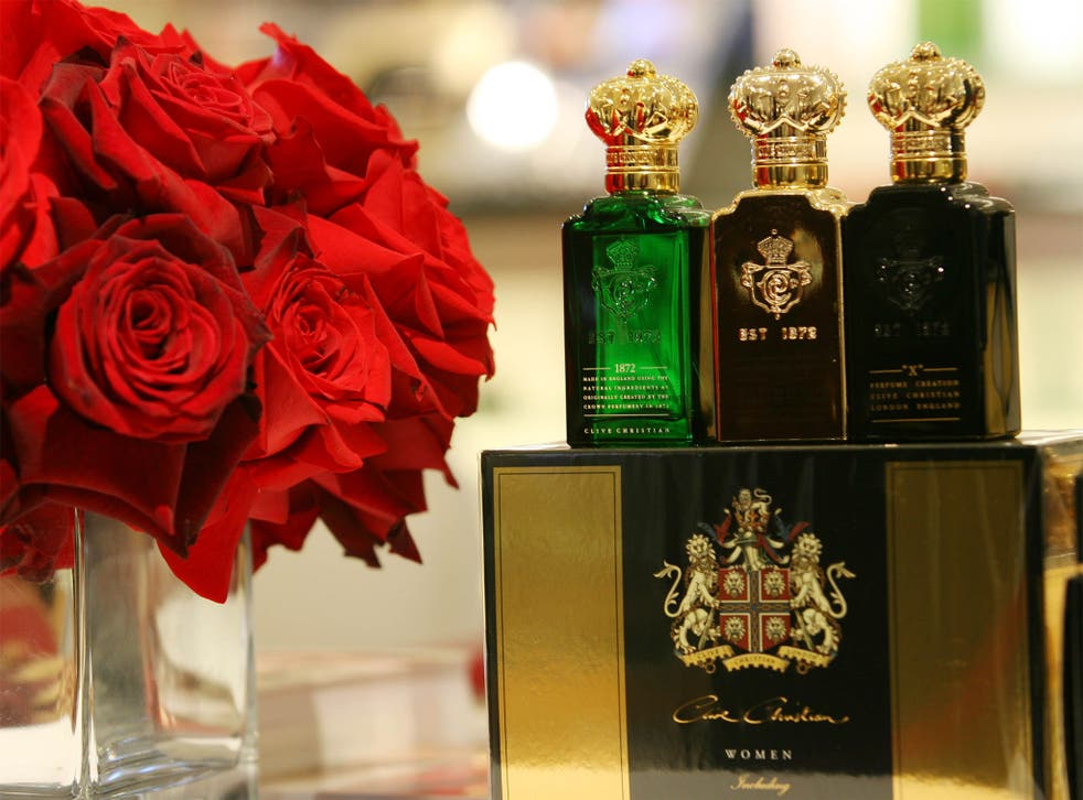 Clive Christian's perfume sells for more than £750 per bottle