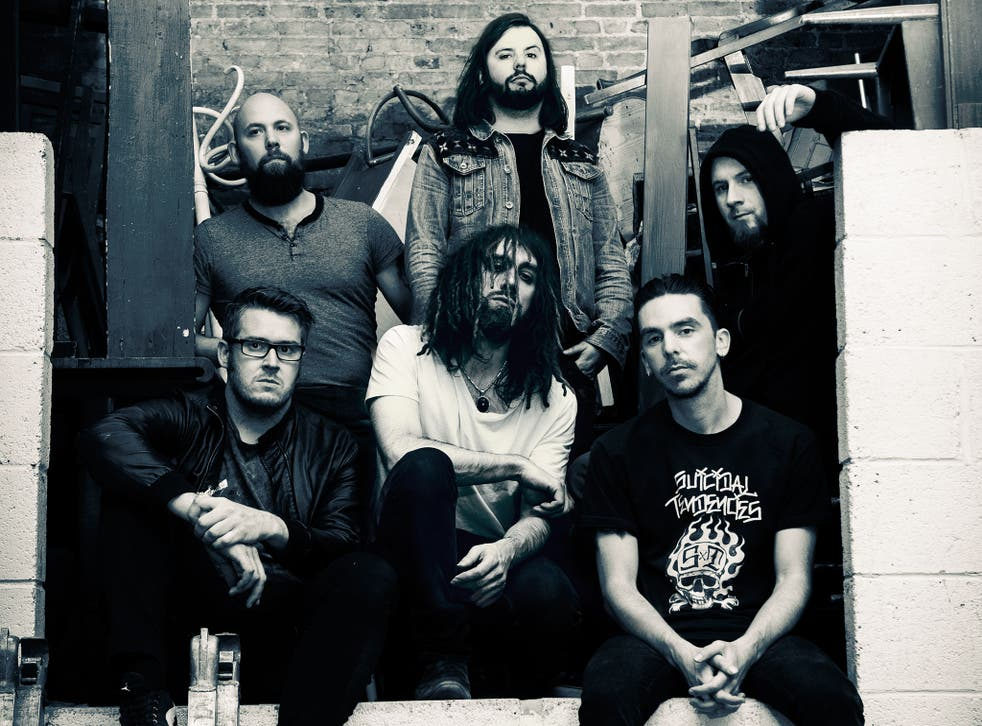 SikTh: Clockwise from top left, Graham 'Pin' Pinney