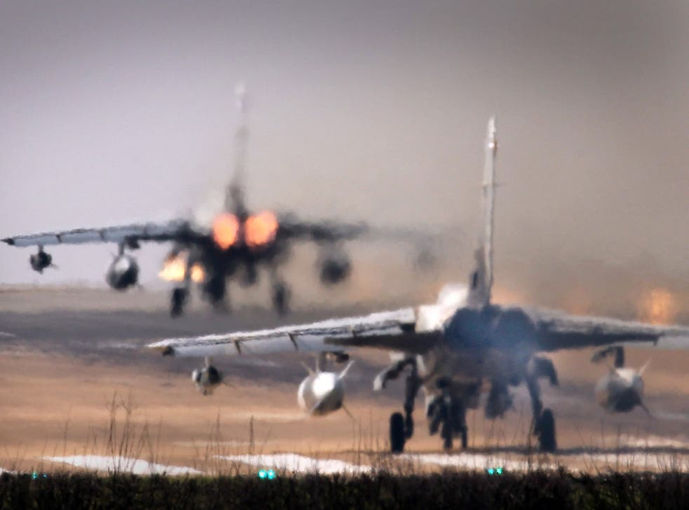 Tornado jets at RAF Marham in Norfolk. File photo.