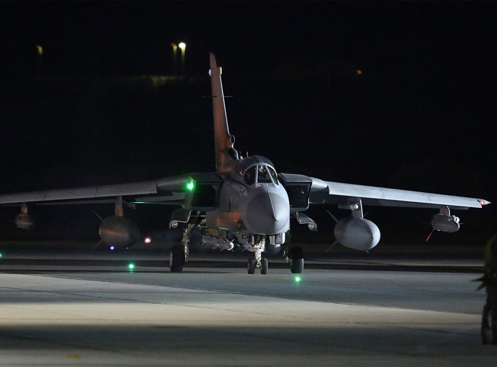 A Tornado takes from RAF Akrotiri hours after Parliament approved air strikes in Syria