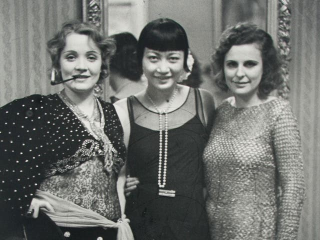 Parallel lives: Marlene Dietrich (left) and Leni Riefenstahl (right), in 1928, in a rare picture together