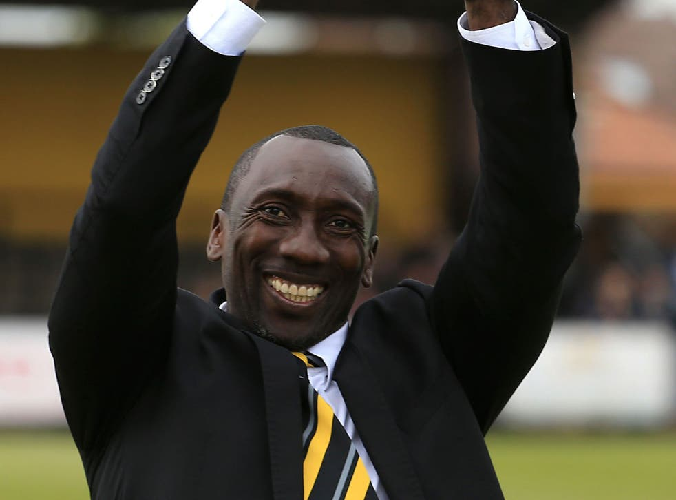 Jimmy Floyd Hasselbaink has taken Burton to the top of League One in his 13 months there