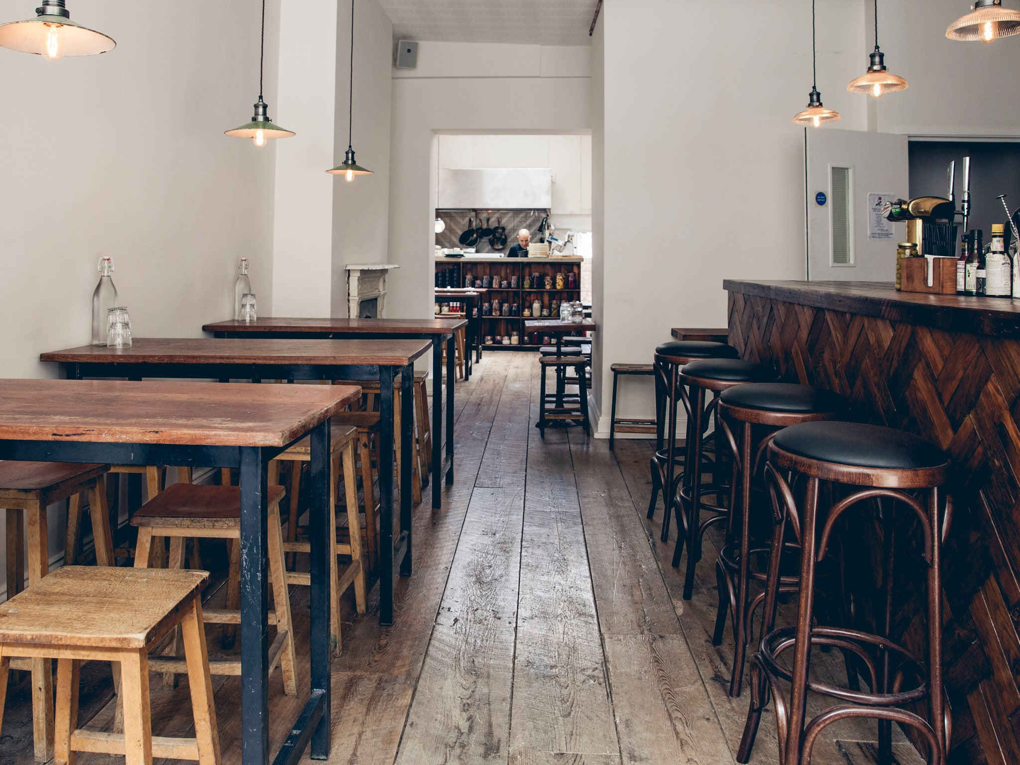 Kitchen Table London Review Rok Smokehouse Restaurant Review Ollie Dabbous Protcgc Matt