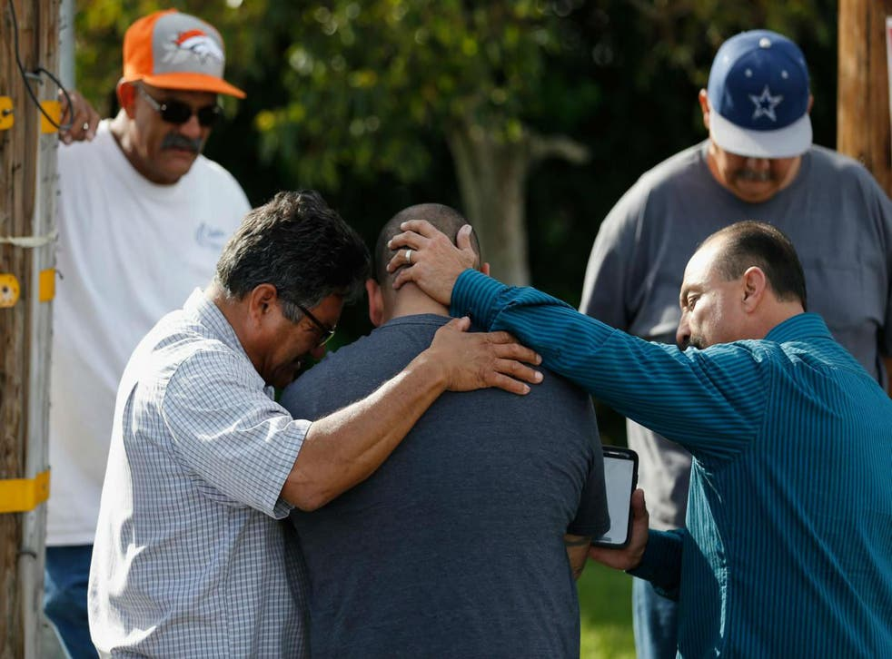 San Bernardino is struggling to deal with the aftermath of the shooting