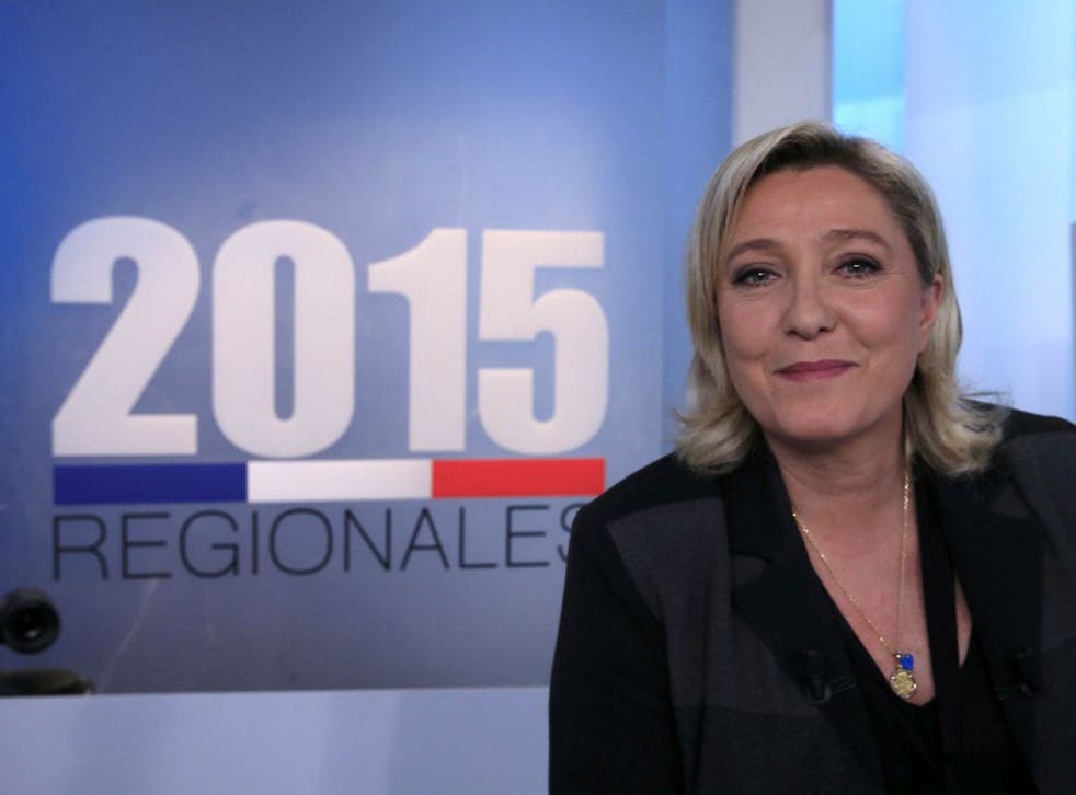 Marine Le Pen, leader of the Front National