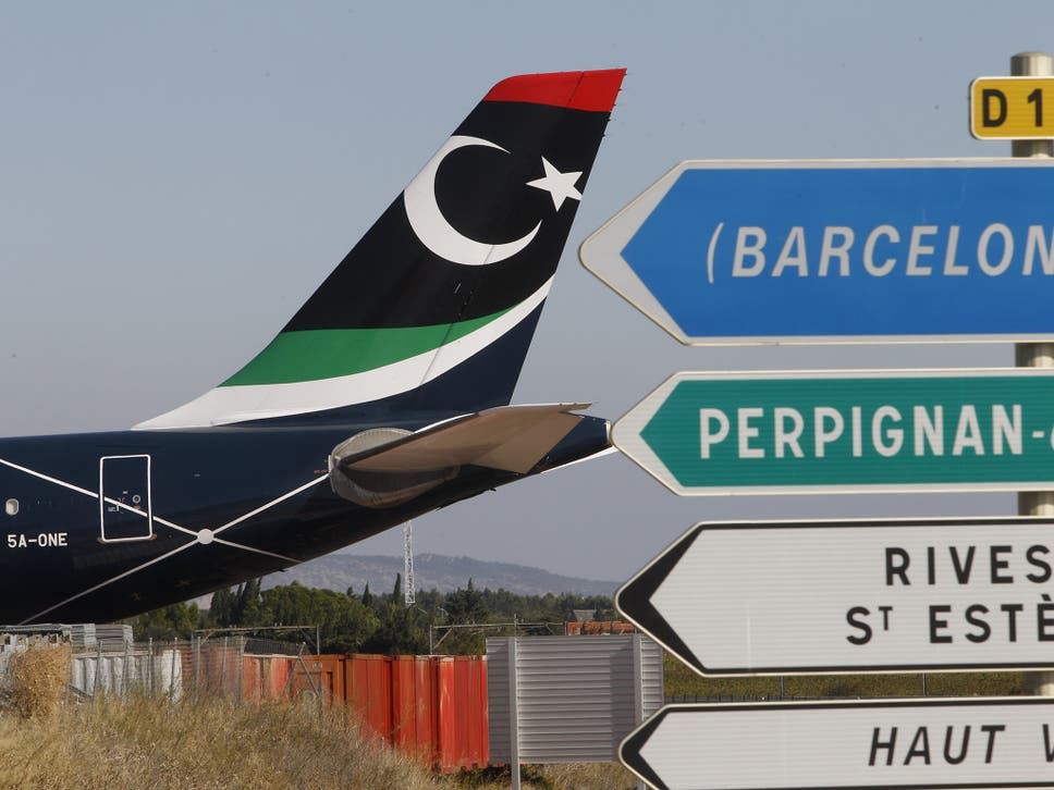 Muammar Gaddafi\'s personal jet grounded in France: from the heights ...