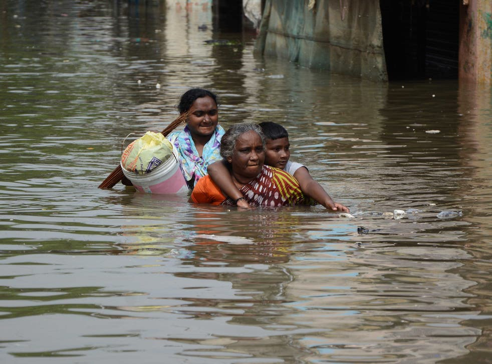 The El Niño effect is said to have contributed to the serious flooding in Chennai, India
