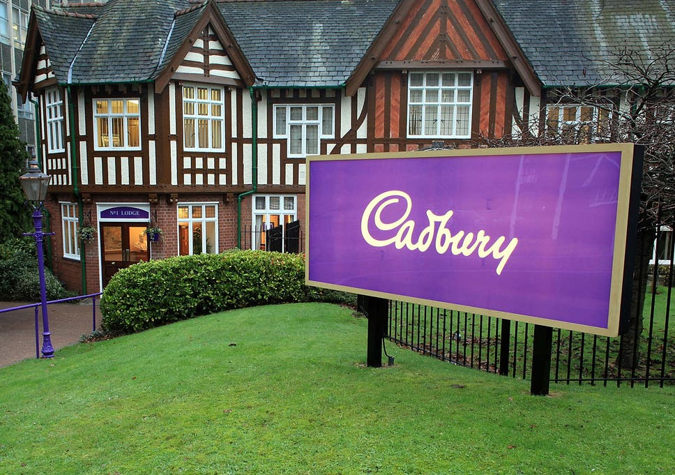 The Main Entrance At Cadburys Bournville Production Plant In Birmingham In Its Early Days