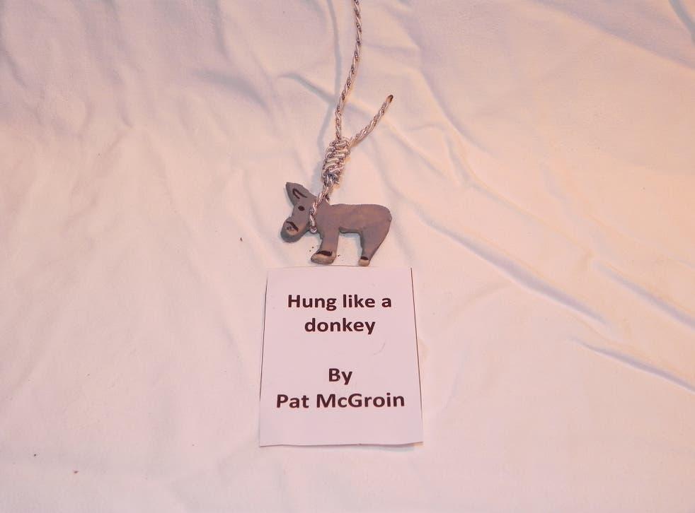 Pat McGroin's 'Hung like a Donkey'