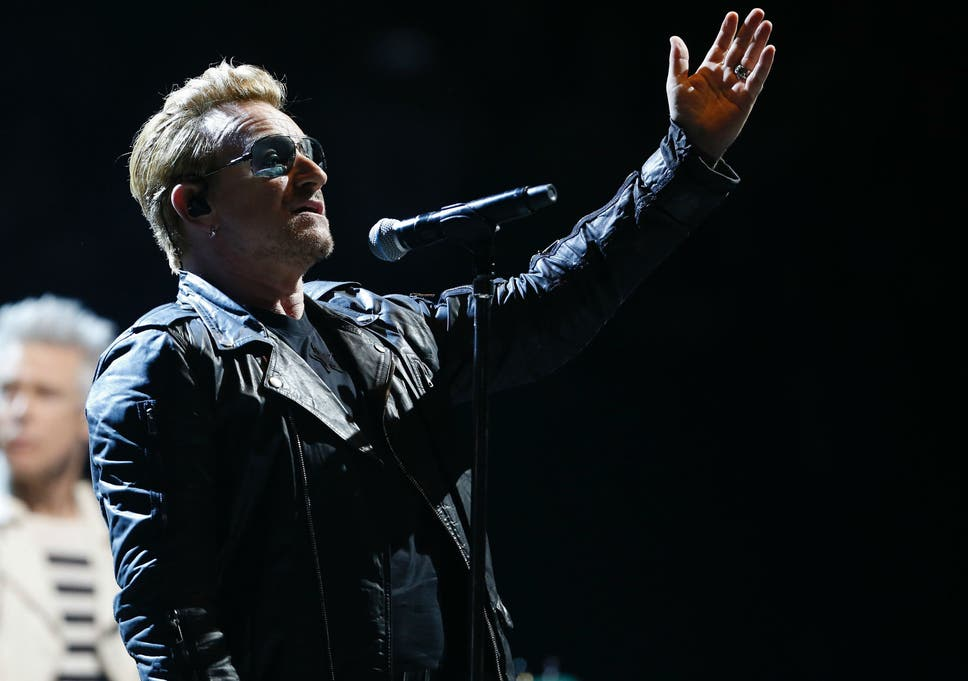 Bono reveals new song about Paris terror attacks as U2 perform