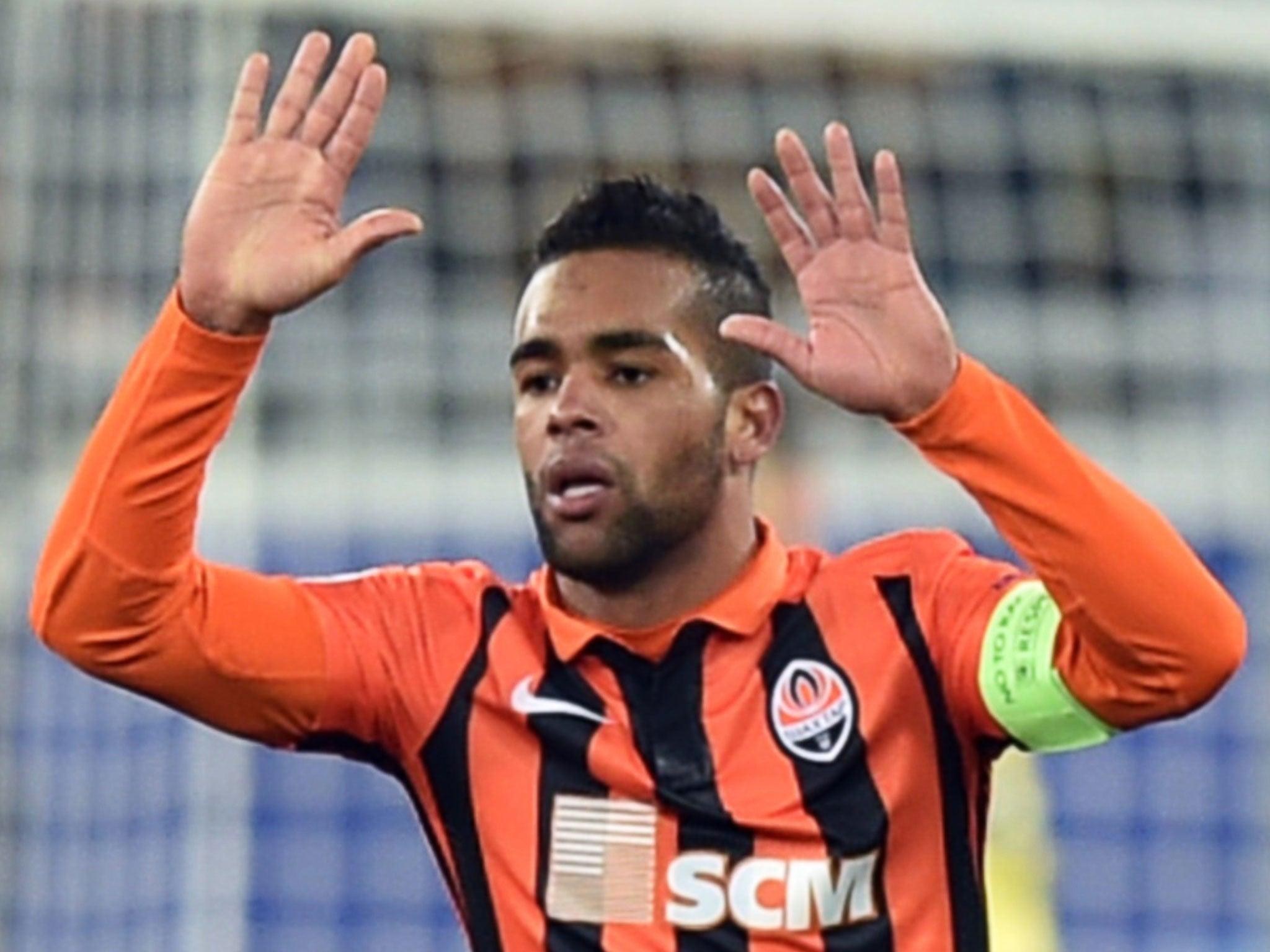 Alex Teixeira to Chelsea Shakhtar Donetsk forward says it is