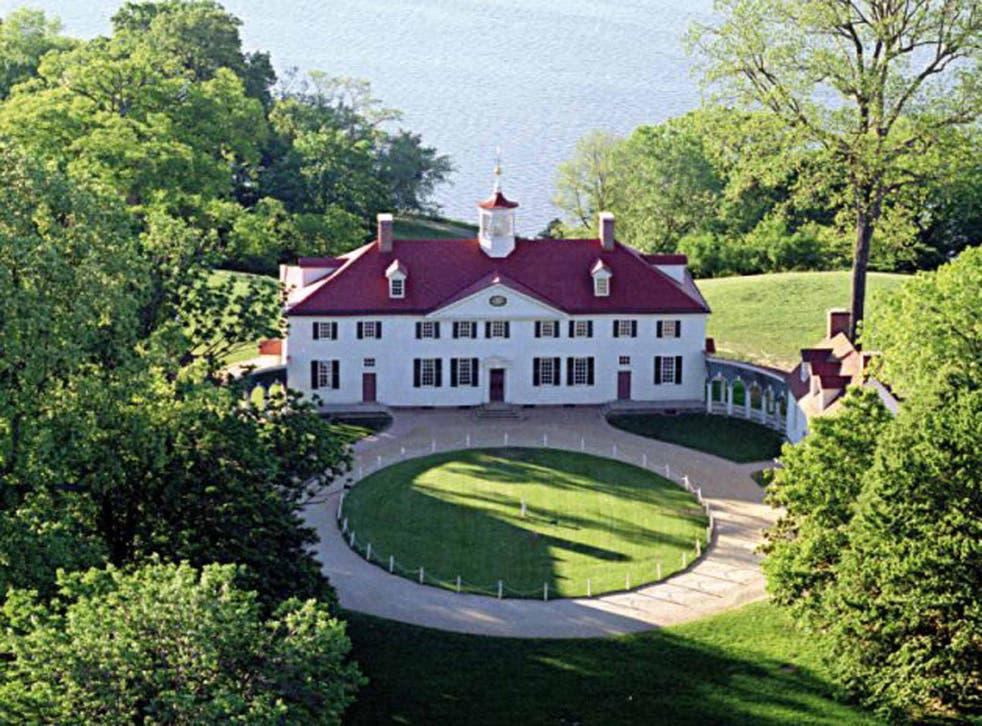 Historic home: Mount Vernon