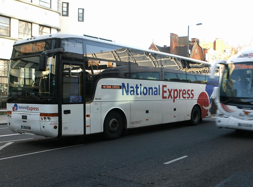 National Express runs long-haul coach services across the country
