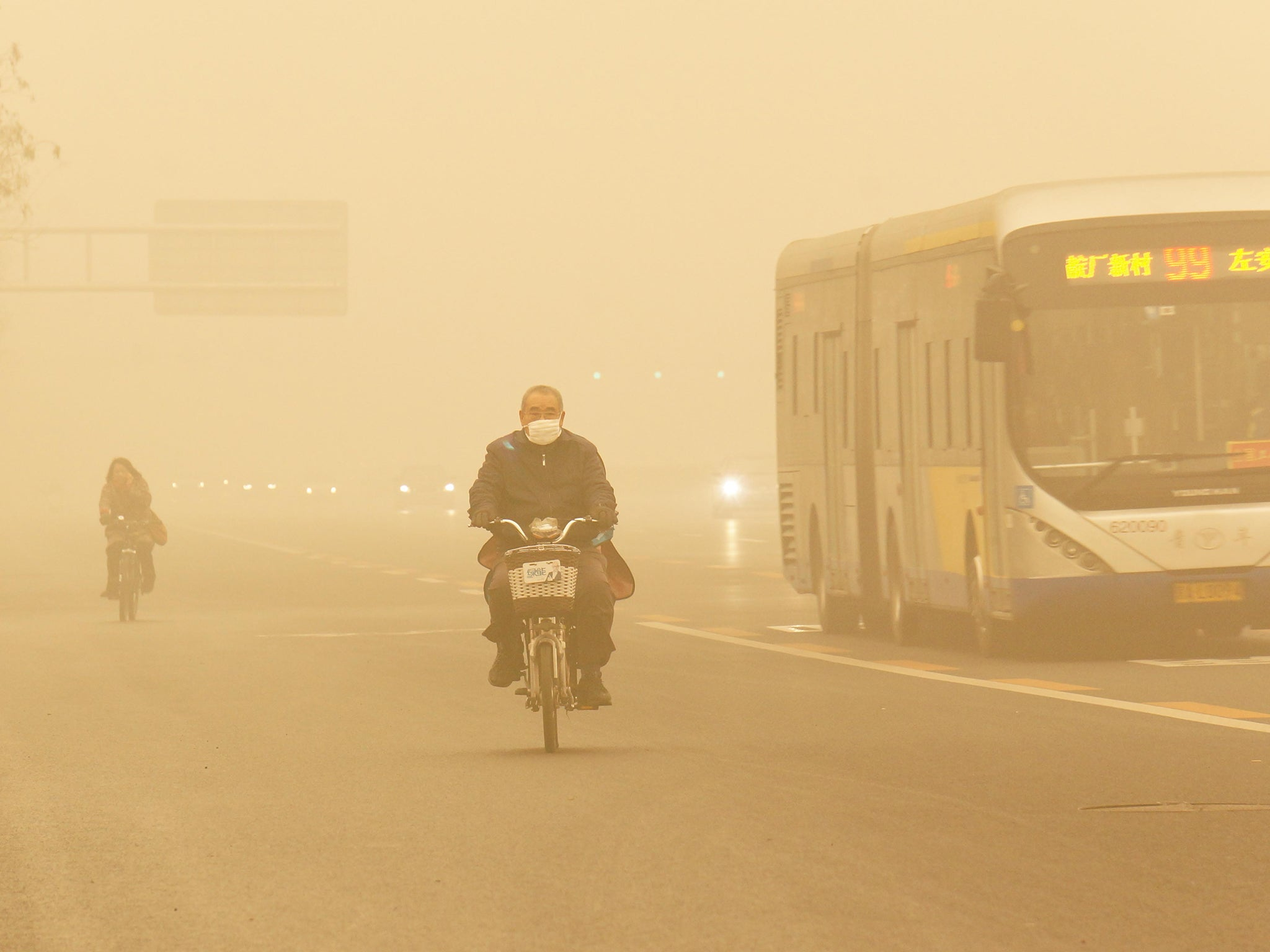 Made in China: LA's smog is the latest product from the Asian