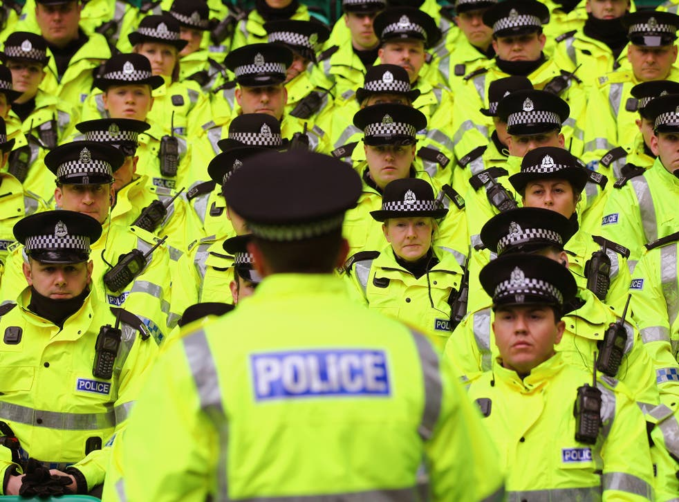 Less than 6% of police officers in England and Wales are from BME backgrounds, compared with 14% of the wider population