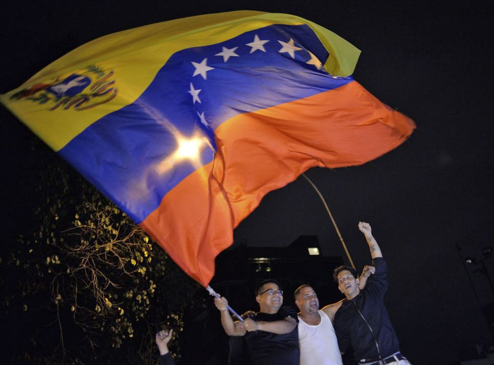 The Venezuelan opposition won control of the National Assembly by a landslide