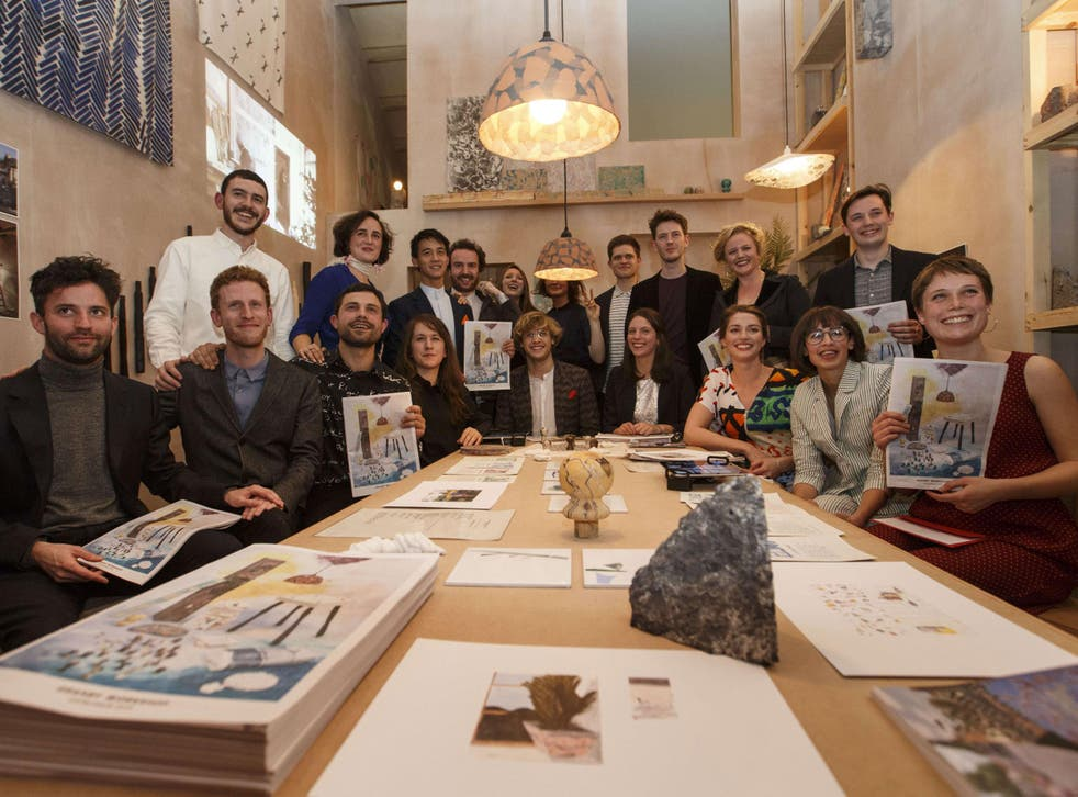 Members of Assemble, a collective of artists who work in the fields of art, design and architecture
